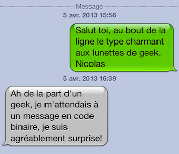 Message site de rencontre exemple